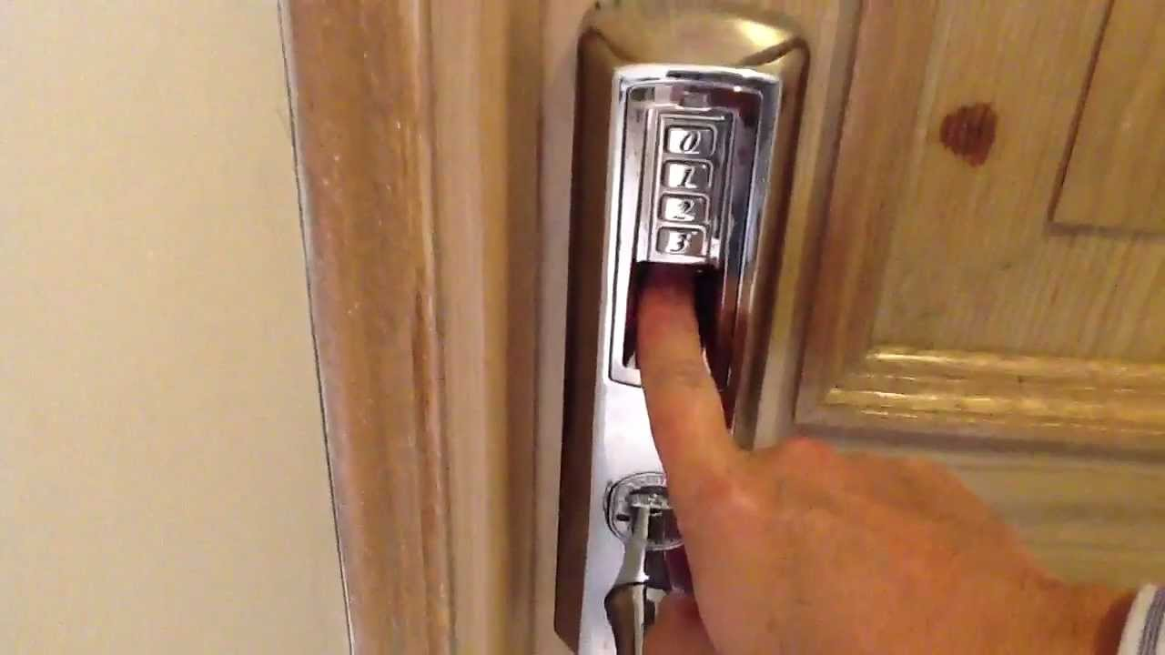 Tch 8908 cerradura con lector de huella para puerta de for Casas con puertas de madera