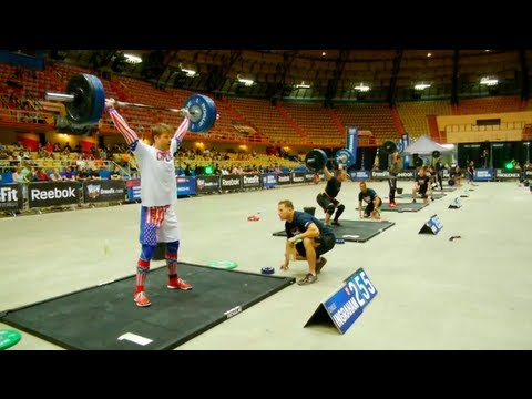 CrossFit - South Central Regional Live Footage: Men's Events 2 & 3