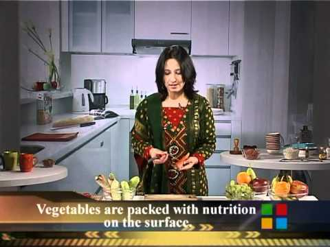 Food Factor - Peeling Vegetables Correctly - Tips For Healthy Eating