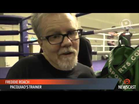 Roach gets into a scuffle with Rios' camp