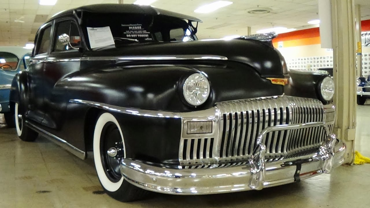 1948 Desoto Hot Rod Sedan V8 Gateway Classic Cars Youtube