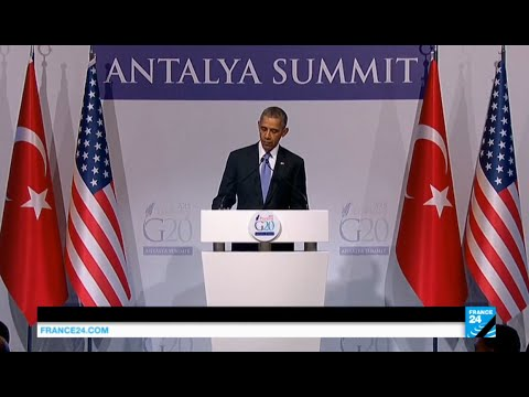 """US president Barack Obama: """"The United States is going to remain relentless on all fronts"""""""