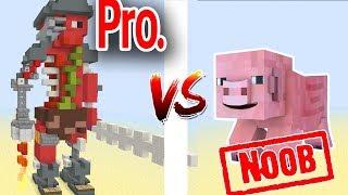 Đại Chiến Những Con Heo Địa Ngục Trong Minecraft