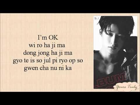IKON - I'M OK (Easy Lyrics)