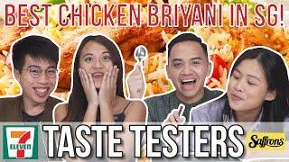 BEST CHICKEN BRIYANI IN SG!   Taste Testers   EP 81