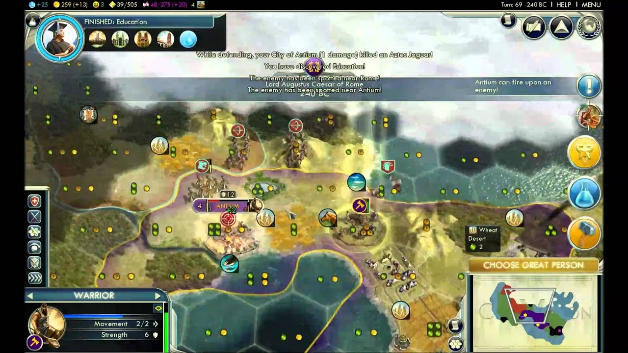 how to achieve cultural victory civ 5