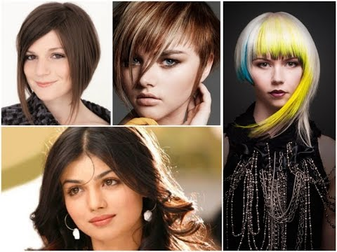 Haircuts for a fat round face