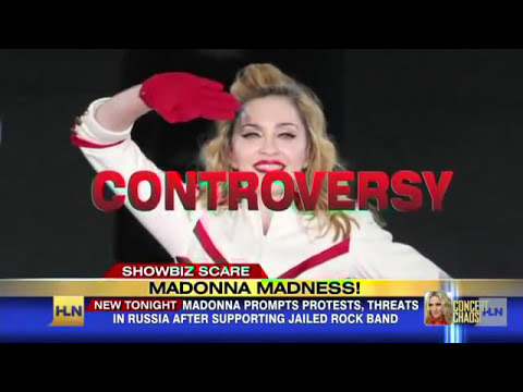 Madonna is calling for peace in Russia