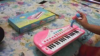 Toy Electronic Keyboard  Bangla Tutorial
