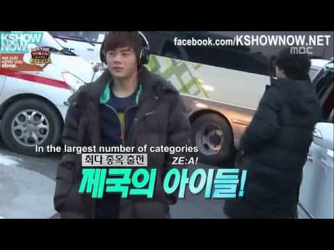 [FULL ENG] 2013 Idol Sports Competition 1/9