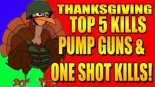 CRAZY PUMP AND ONE SHOT EPICNESS ON TOP 5!!!