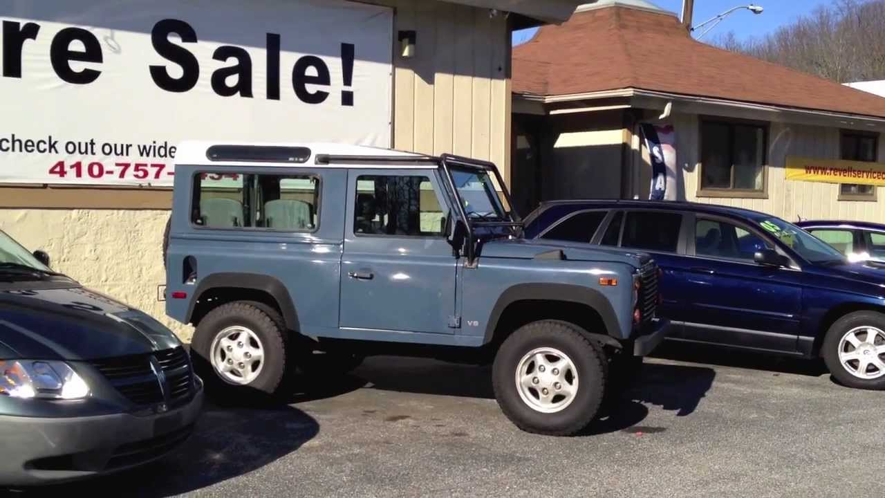 1997 Land Rover Defender 90 For Sale 417 Youtube