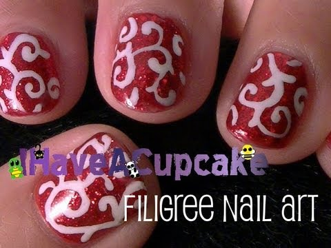 Filigree Nail Art