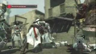 Assassins Creed Walkthrough Xbox 360 - Robert de Sable Jerusalem Assassination
