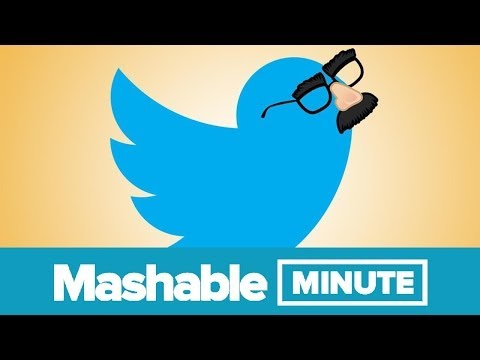 Faking It On Twitter | Mashable Minute | With Elliott Morgan video