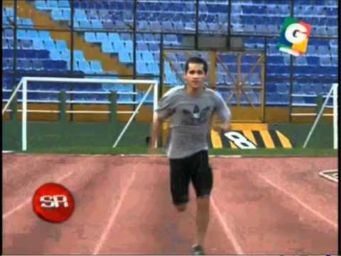 Velocista 100 metros planos, Byron Ramirez