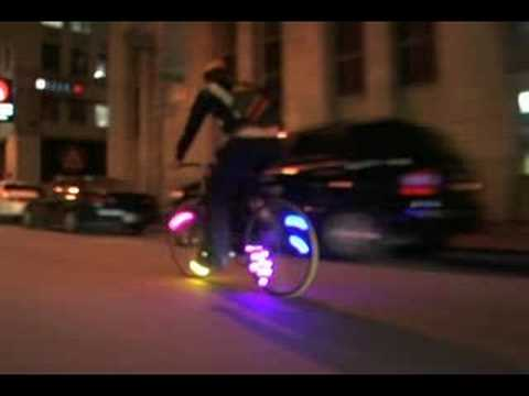 MonkeyLectric--revolutionary bicycle lighting