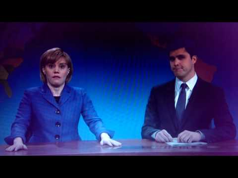 Boob touches Angela Merkel