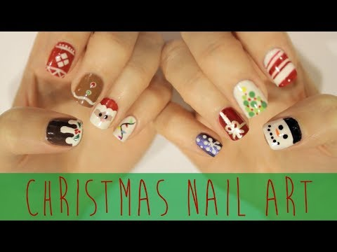 Nail Art For Christmas: The Ultimate Guide! video