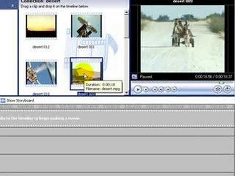 how to open timeline on movie maker