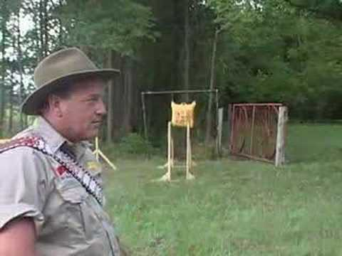 Byron Ferguson's Incredible Archery Shots - Candle Shot Video