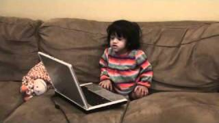 Sunetra Learning Music (at an age of 17 months)