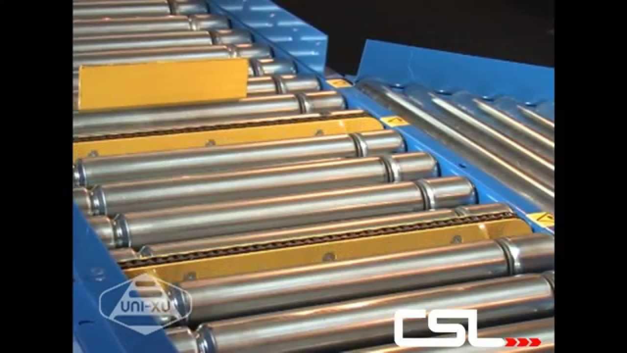 Vertical Chain Transfer Roller Conveyor Conveyor