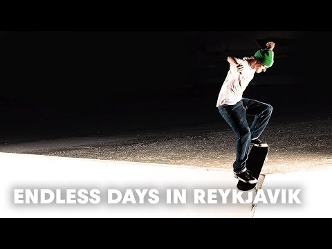Skating the midnight sun of Iceland with Josh Matthews, Madars Apse, Tyler Bledsoe and friends!