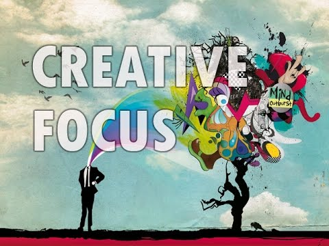Creative Focus - Stimulate Creativity, New Ideas - Isochronic Tones