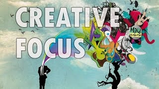 Creative Focus - Stimulate Creativity, New Ideas - Isochronic Tones