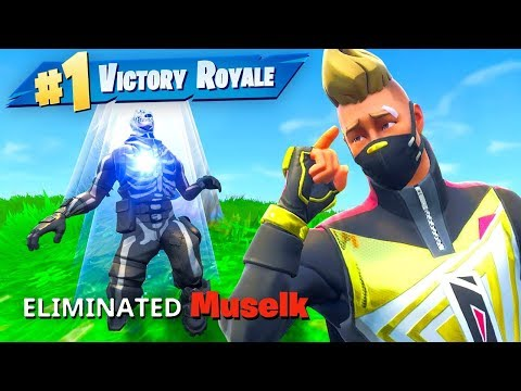 I Eliminated Muselk In Fortnite Battle Royale?