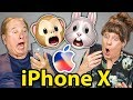 ELDERS REACT TO iPHONE X (Facial Recognition, Animojis)