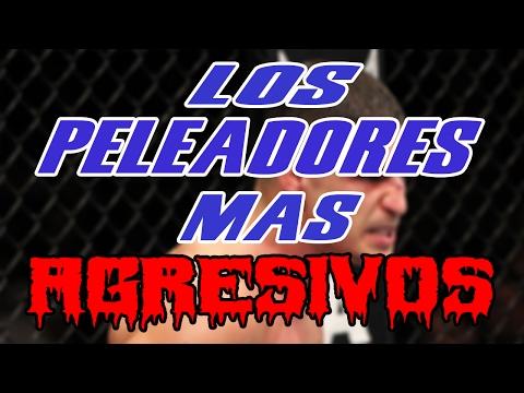 LOS PELEADORES MAS AGRESIVOS DENTRO DEL OCTAGONO