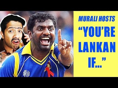 You're Sri Lankan If... (with Murali!) (surge 2014 Charity Promo) video