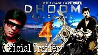 Dhoom 4 : Reloded official Trailer | Shah Rukh Khan | Back in Action | Fan made trailer