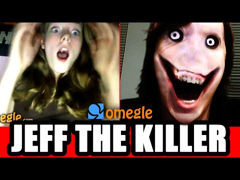 Jeff The Killer Scares Omegle Video Chatters! video