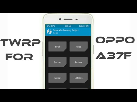Unlock bootloader and Twrp 3.1.1 recovery for oppo a37f 1000% working | Yassuz