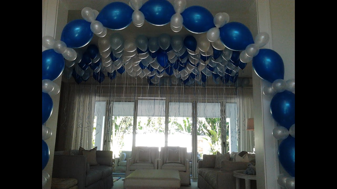 Highland beach manalapan balloon decorating singer for Balloon decoration ideas no helium