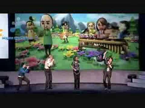 Nintendo E3 2008: Wii Music Performance