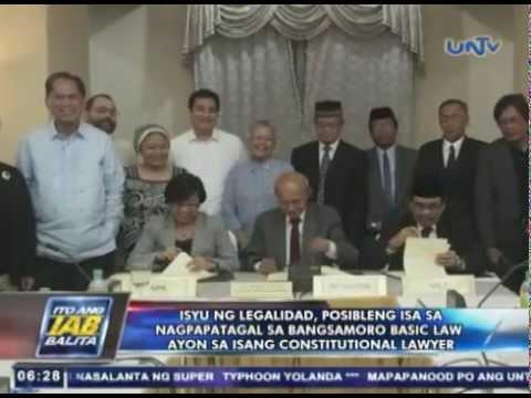 Isyu ng legalidad, posibleng isa sa nagpapatagal sa Bangsamoro Basic Law — Atty. Paguia