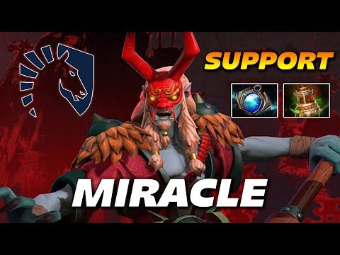 Miracle Grimstroke Support ! - Dota 2 Pro Gameplay