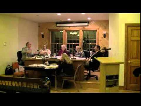 Hopkinton, RI Town Council Meeting 1/17/2012