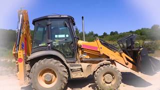 Mega Machines | EXCAVATOR | I Wish I was a Backhoe Loader song | Cars for Kids