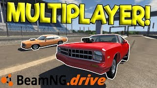 MULTIPLAYER DRAG RACES & RC CAR CRASHES! - BeamNG Drive Multiplayer Gameplay - Toy RC Car