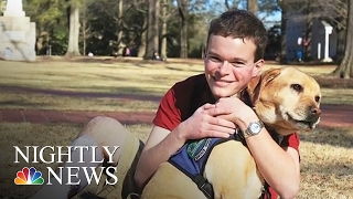 Inspiring America: Jory, American Rhodes Scholar With Autism, To Study At Oxford | NBC Nightly News