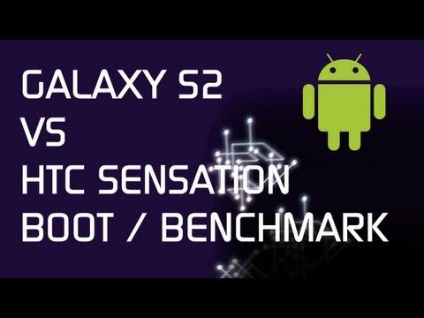 Samsung Galaxy S2 vs HTC Sensation - Boot / Quadrant / Linpack