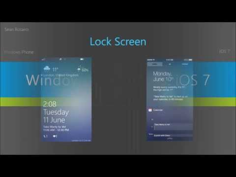 iOS 7 vs. Windows Phone 8
