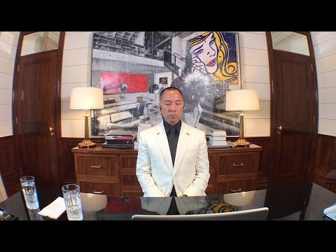 郭文贵5月15日报平安直播视频 被骇后再开!