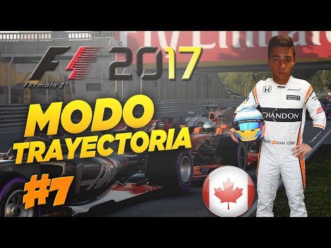A POR TODAS CON HONDA F1 2017 Codemasters MODO TRAYECTORIA | #7 CANADÁ (Temp.1) Career Mode
