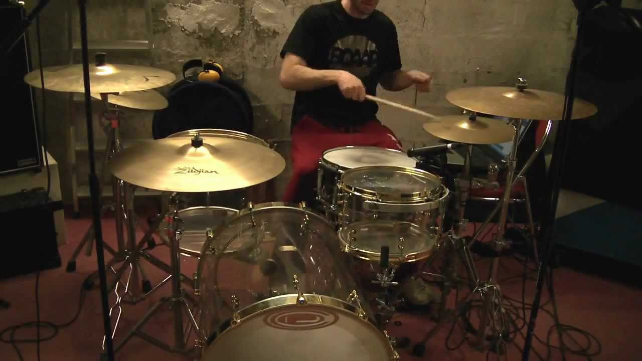 Test Sound Ocdp Drum Quot Travis Barker Quot Pearl Sensitone